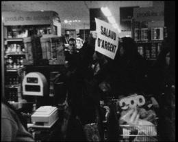Lors d'une autoréduction dans un supermarché